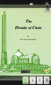 The Divinity of Christ poster