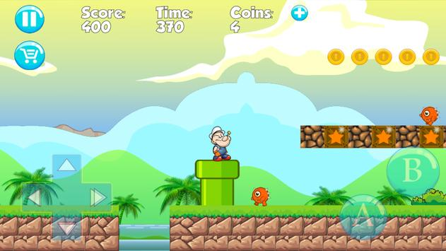 Papaye  Man Jungle 2018 apk screenshot