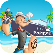 Popaye Spinach Man Jungle Game icon