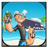 Papaye Spinach Man Free Game icon