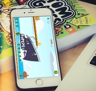 Papaye Spinach Man Free Game apk screenshot