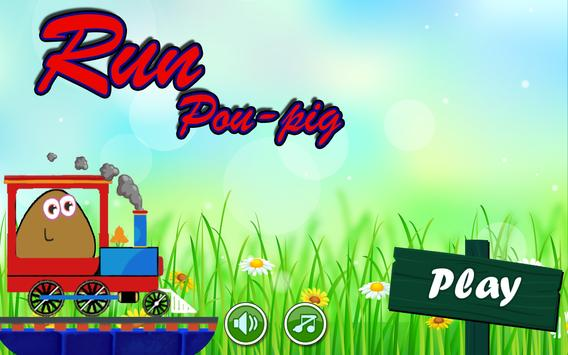 Run Thomas Pou-Pig poster