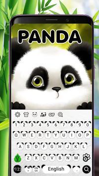 Panda Keyboard Theme poster