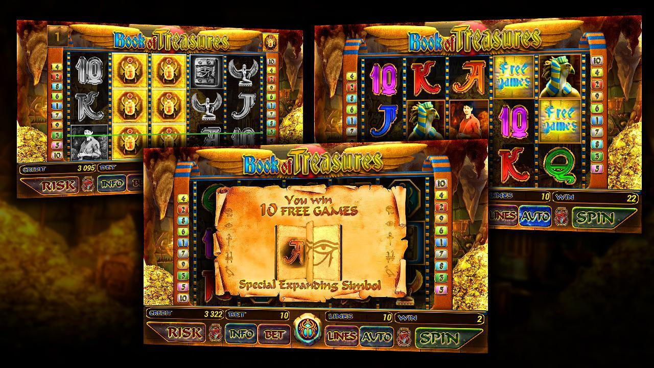 Spiele Book Of Treasures