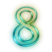 SPEED NUMBER icon