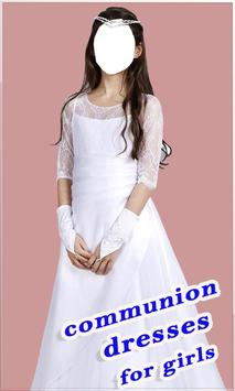 Communion Dresses For Girls HD poster
