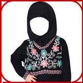 Cute Kids Hijab Fashion icon