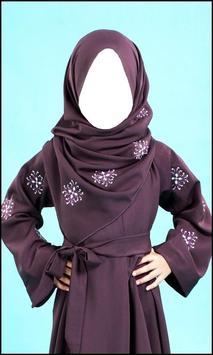 Cute Kids Hijab Fashion apk screenshot