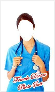 Female Doctor Photo Suit New screenshot 4