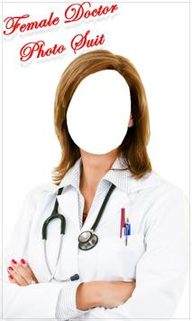 Female Doctor Photo Suit New screenshot 1
