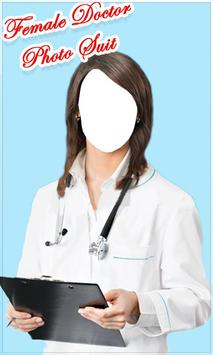 Female Doctor Photo Suit New screenshot 3