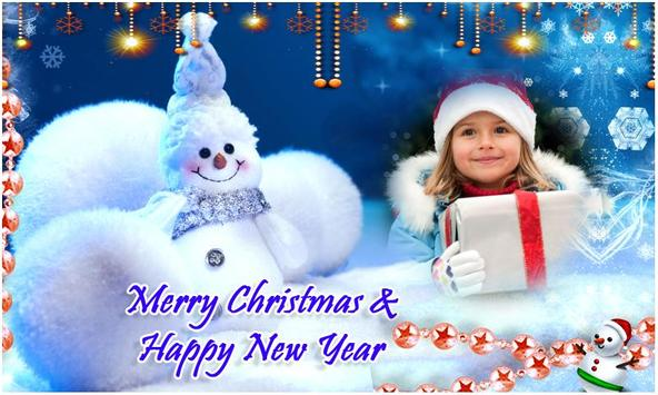 Merry Christmas Photo FramesHD poster