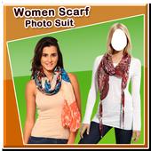Women Scarf Photo Suit New icon