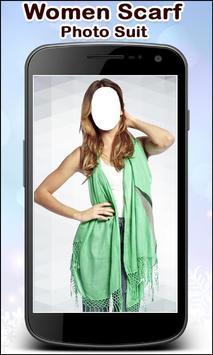 Women Scarf Photo Suit New screenshot 4