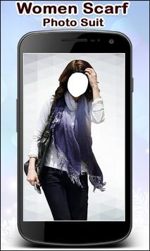 Women Scarf Photo Suit New screenshot 5