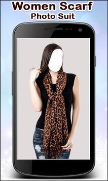 Women Scarf Photo Suit New screenshot 3