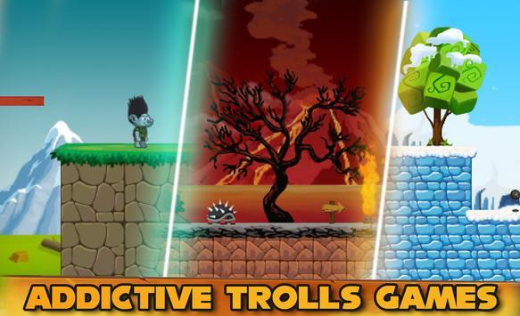 🚩Super Troll Fantastical rush apk screenshot
