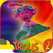 👑 Princess Poppy Troll Games : Trolls World icon