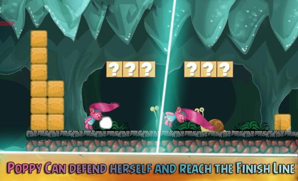 👑 Princess Poppy Troll Games : Trolls World apk screenshot