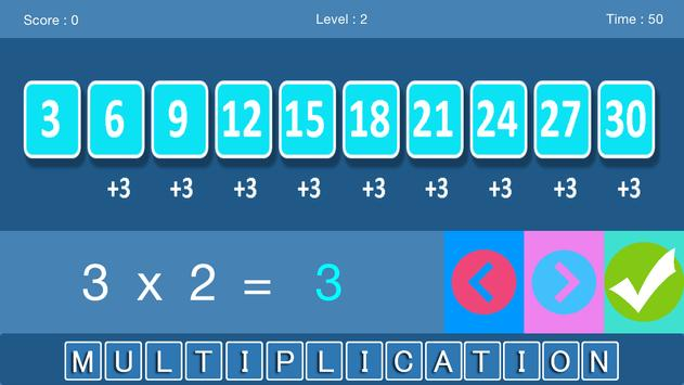 X - Multiplication Game poster