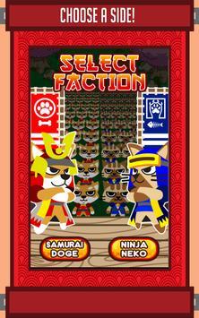 Ninja Neko X Samurai Doge screenshot 1
