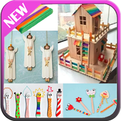 Popsicle Stick Crafts icon
