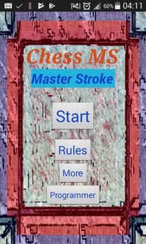 Chess MS poster
