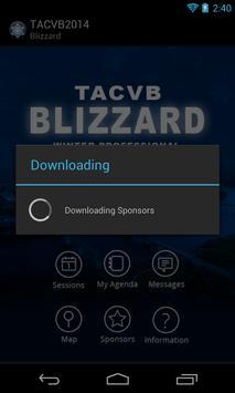 TACVB Winter Blizzard poster