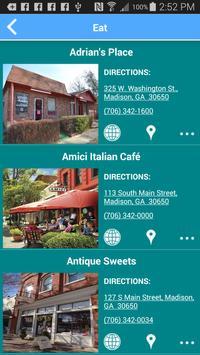 Visit Madison GA! apk screenshot