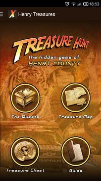 Henry County Treasure App apk screenshot