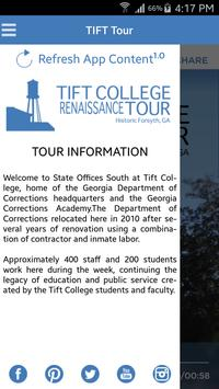 Tift College Tour poster