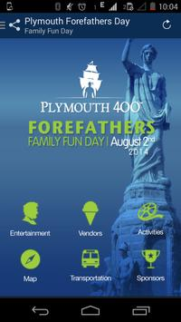 Forefathers Family Fun Day poster