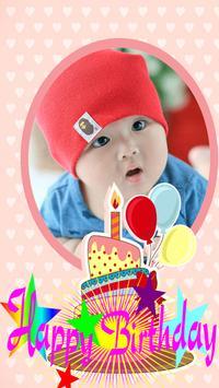 Happy Birthday photo frame screenshot 1