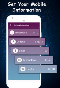 Battery Saver - Battery Charger & Battery Life apk screenshot