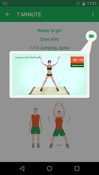 7 Minute Workout تصوير الشاشة 3
