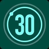 30 दिन फिटनेस चैलेंज आइकन