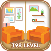 Find the Rooms 2 Differences - 300 levels Game icon