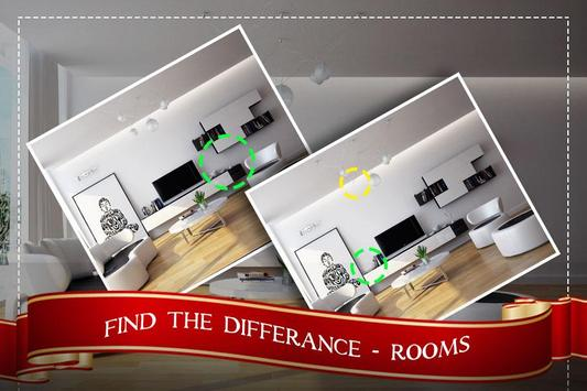 Find the Rooms 2 Differences - 300 levels Game poster