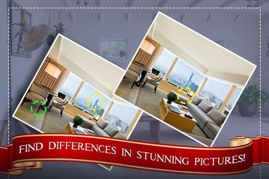 Find the Rooms 2 Differences - 300 levels Game screenshot 1