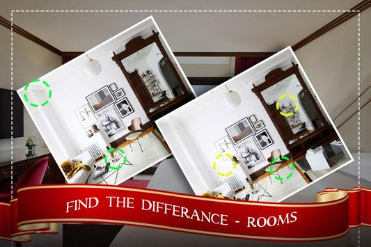 Find the Rooms 2 Differences - 300 levels Game screenshot 2