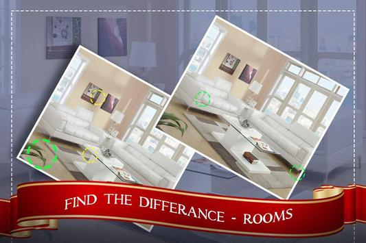 Find the Rooms 2 Differences - 300 levels Game screenshot 3