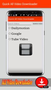 Fast Video Downloader apk screenshot