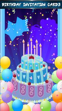 Birthday Invitation Cards poster