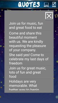 Birthday Invitation Cards screenshot 4