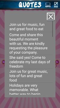 Princess Ball Invitations screenshot 12