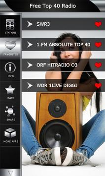 Free Top 40 Radio screenshot 4