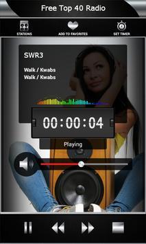 Free Top 40 Radio screenshot 2
