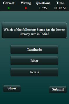 Population in India Quiz screenshot 13