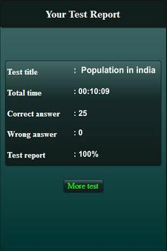 Population in India Quiz screenshot 11