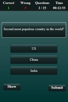 Population in India Quiz screenshot 14